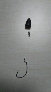 通常のヘビキャロのイメージ